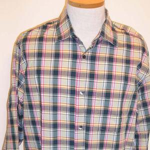 NWT BANANA REPUBLIC Mens Shirt XL Long Sleeve